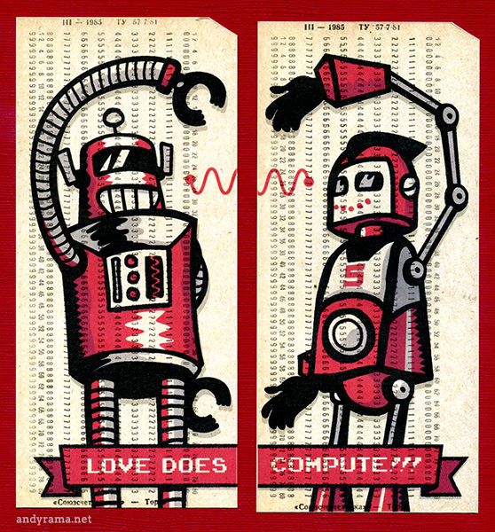Love Does Compute by Andrew O. Ellis - Andyrama