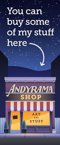The Andyrama Store by Andrew O. Ellis